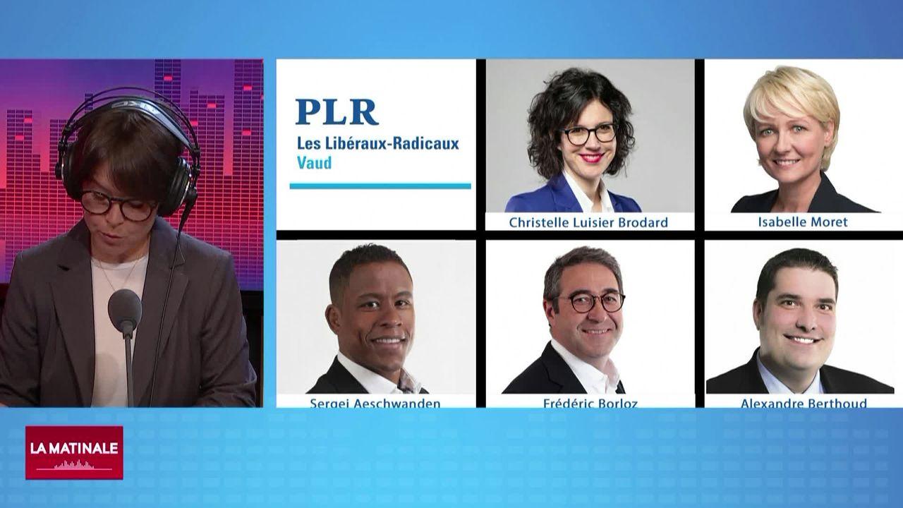 Zoom (vidéo) - Le PLR Vaud désigne les candidats pour la course au Conseil d'Etat [RTS]