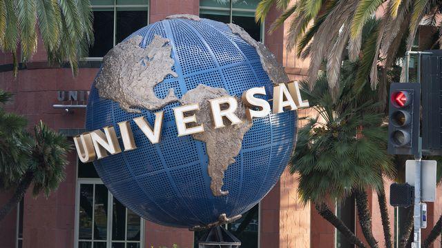 Les locaux d'Universal Music Group (UMG) à Santa Monica en Californie. [Valérie Macon - AFP]
