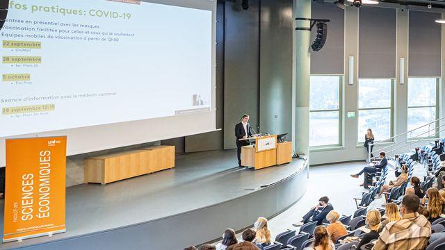 Le semestre a commencé mardi 21 septembre à l'Université de Neuchâtel. [UniNE]