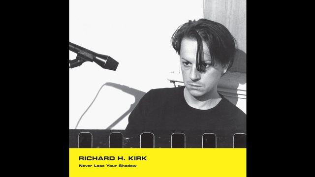"""La pochette du single de Richard H. Kirk, """"Never Lose Your Shadow"""". [Phil Barnes - ©Minimal Wave, Mute Artists Limited]"""
