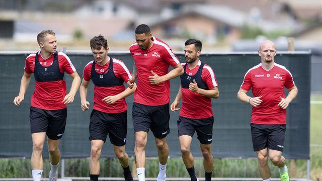 Le FC Sion doit se relancer en championnat ce soir après son élimination de la Coupe de Suisse samedi dernier. [Laurent Gillieron - Keystone]