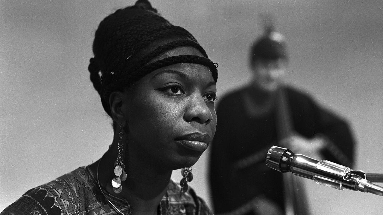 Nina Simone. [Roger Viollet - AFP]