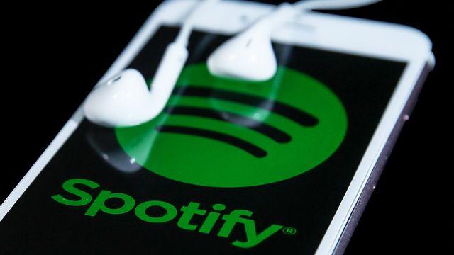 Le logo de Spotify. [Mahmut Serdar Alaku - AFP]