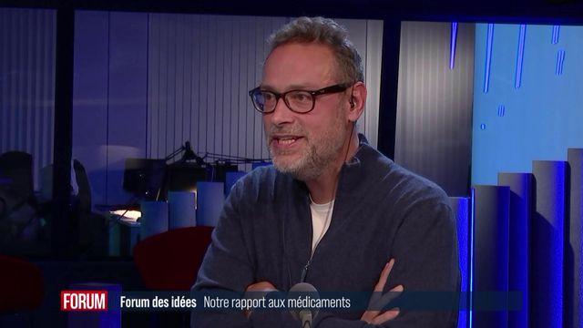 Arnaud Robert, journaliste, réalisateur et écrivain suisse. [RTS - RTS]