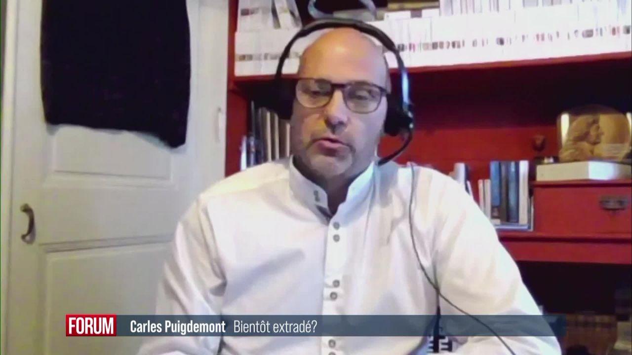 Carles Puigdemont va-t-il être extradé en Espagne? (vidéo) [RTS]