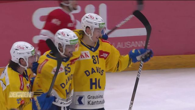 Hockey, National League: Lausanne - Davos (2-5) [RTS]