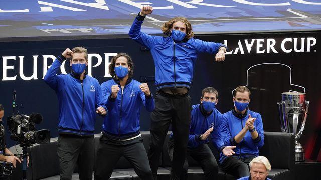 L'Europe exulte après le succès de Casper Ruud. [AP Photo/Elise Amendola - Keystone]