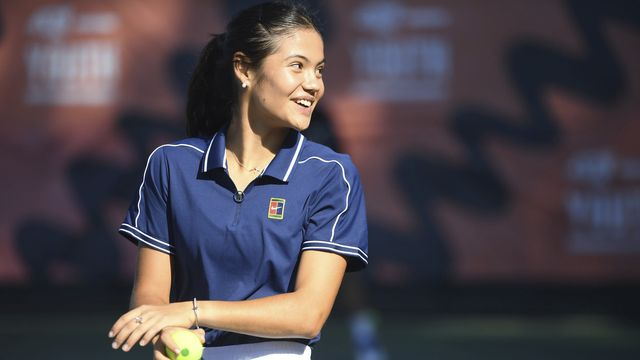 Emma Raducanu n'a plus joué depuis son succès à l'US Open. [Jeremy Selwyn/Pool Photo via AP - Keystone]