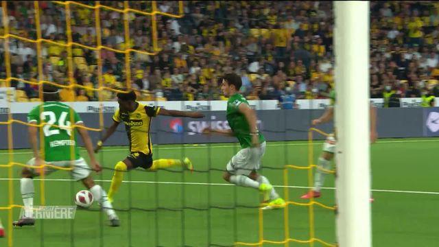 Football, Super League: Young Boys - Saint-Gall (2-1) [RTS]