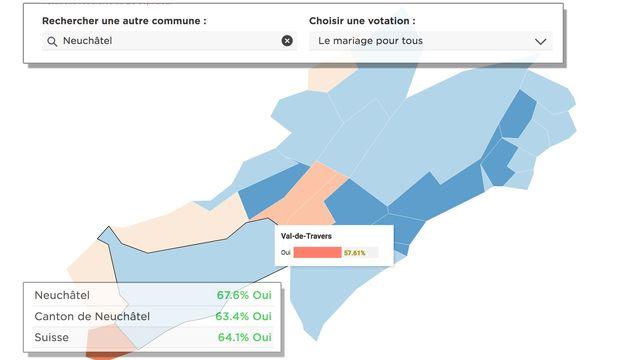 Les détails par commune du vote du 26 septembre [RTS]