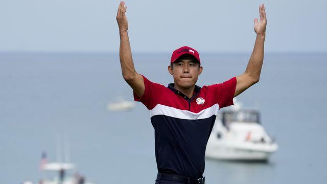 Collin Morikawa et le Team USA sont sacrés pour la 27e fois. [AP Photo/Ashley Landis - Keystone]