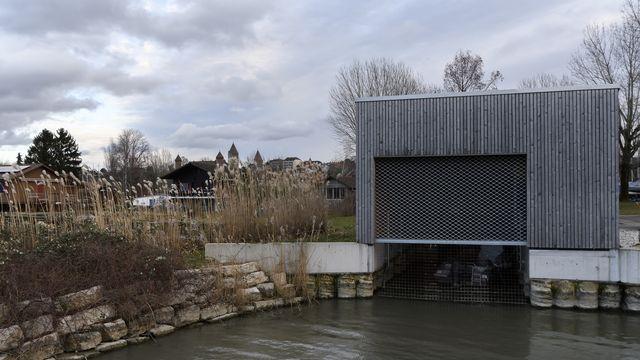 Inaugurée à l'automne 2016, la pisciculture cesse son activité en 2017 [ANTHONY ANEX - KEYSTONE]