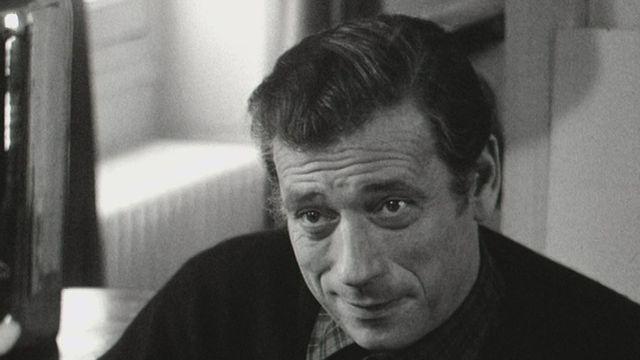 Le comédien français Yves Montand en 1966. [RTS]