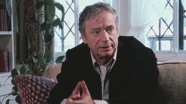 Le comédien Yves Montand en 1980. [RTS]