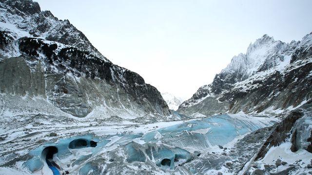 Grotte et glacier de Chamonix. [EPA/DENIS BALIBOUSE / POOL MAXPPP OUT - Keystone]