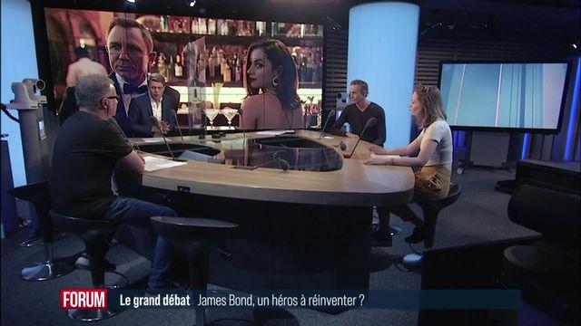 Le grand débat (vidéo) - James Bond, un héros à réinventer? [RTS]