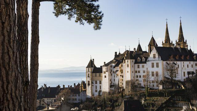 Budget 2022 avec surplus pour le Canton de Neuchâtel  [Jean-Christophe Bott - KEYSTONE]
