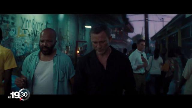 Le nouveau James Bond sortira dans les salles de cinéma jeudi. [RTS]