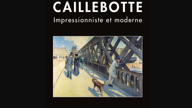"""L'affiche de l'exposition """"Caillebotte, impressionniste et moderne"""", de la Fondation Pierre Gianadda. [Fondation Pierre Gianadda]"""