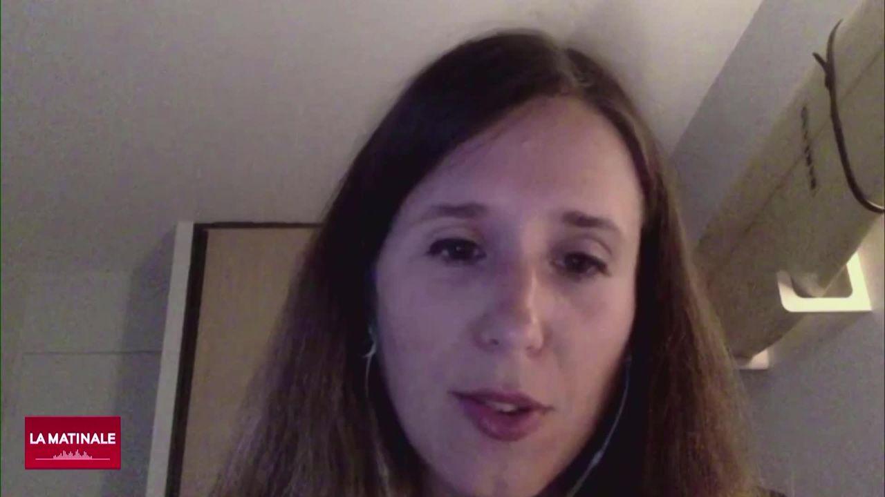 """L'invité de La Matinale (vidéo) - Chloé Aeberhardt, journaliste et autrice de """"Les Espionne racontent"""" [RTS]"""
