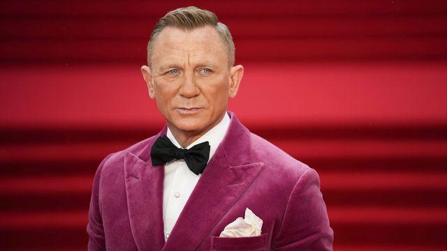 """Daniel Craig lors de la première de """"Mourir peut attendre"""". [MATT DUNHAM - AP PHOTO/KEYSTONE]"""