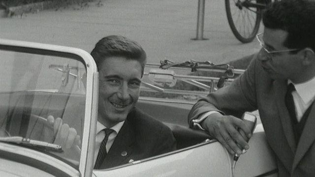 Interview de Jo Siffert en 1964. [RTS]