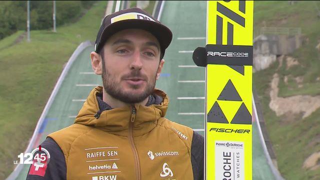 Remis de sa déchirure d'un ligament croisé, Kilian Peier va reprendre la compétition en saut à ski, avec comme objectif les Jeux olympiques 2022 à Pékin [RTS]