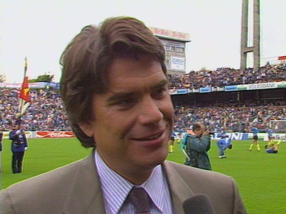 Bernard Tapie au Wankdorf [RTS]