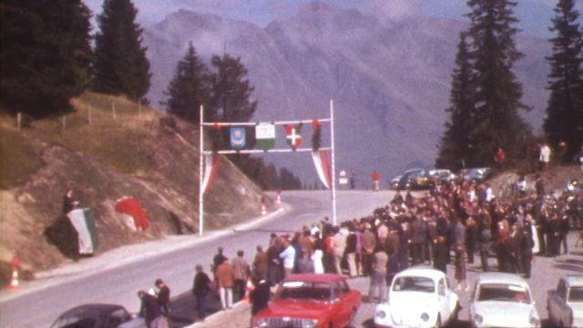 Inauguration de la route du Col de la Croix [RTS]