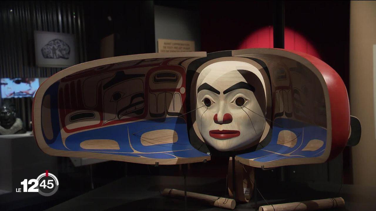 Une exposition au Musée d'ethnographie de Genève donne la voix aux peuples autochtones face à l'urgence climatique [RTS]