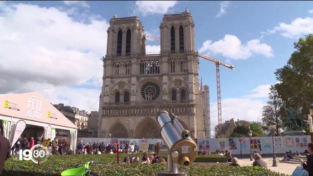 Une entreprise jurassienne participe aux travaux de restauration de la cathédrale de Notre-Dame de Paris. [RTS]