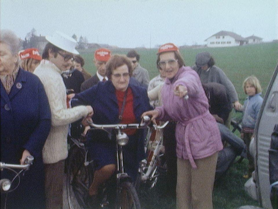 Le troisième âge à vélo! [RTS]