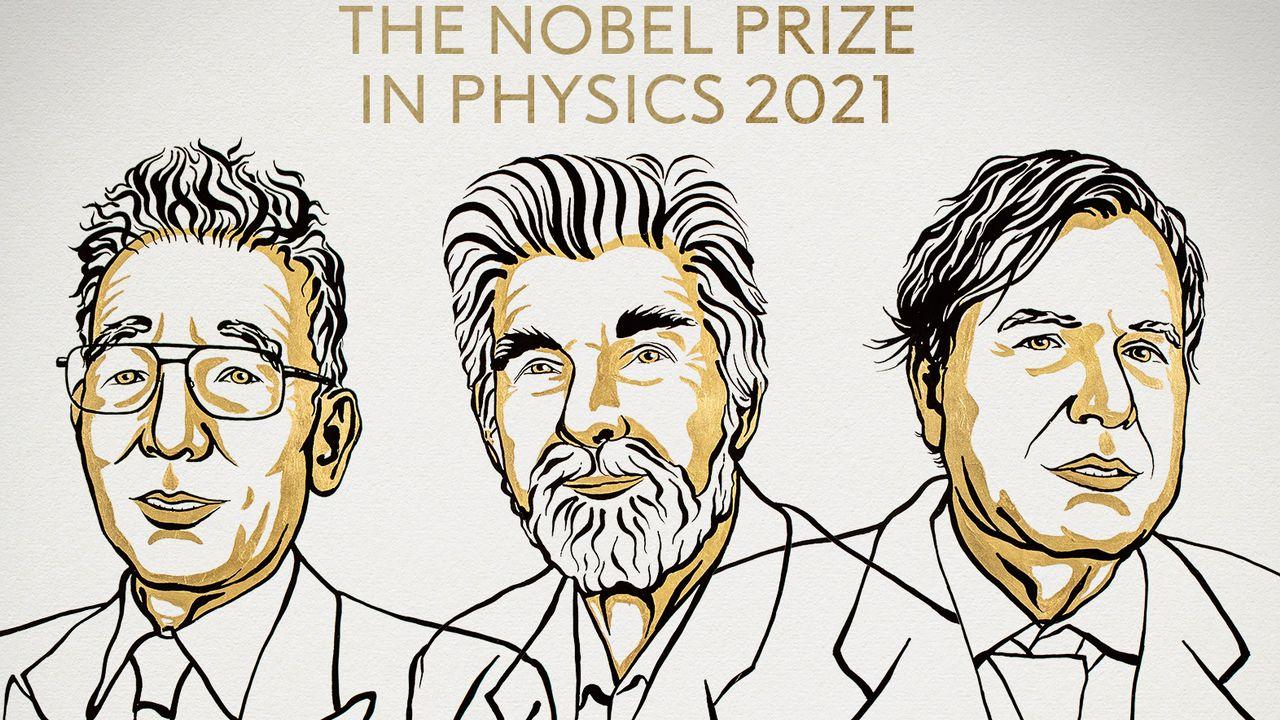 Le Prix Nobel de Physique 2021 est attribué à trois personnes travaillant sur le changement climatique. [Niklas Elmehed - The Royal Swedish Academy of Sciences]