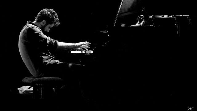 Le pianiste et compositeur palestinien Faraj Suleiman. [Pierre Etienne Ridoux - DR]