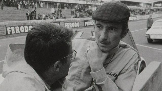 Jo Siffert aux 24 Heures du Mans en 1967. [RTS]