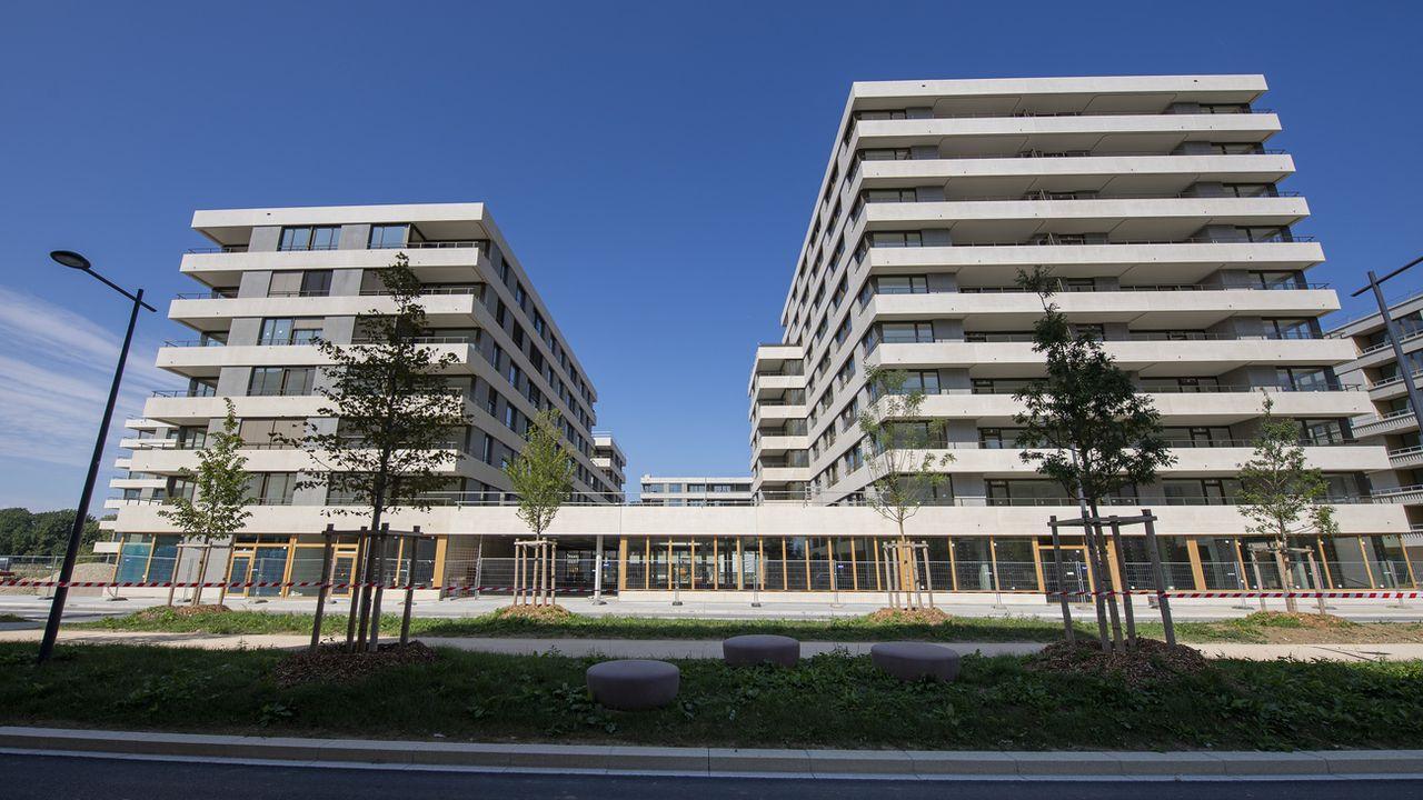 Le nouveau quartier de Belle-Terre à Thonex, près de Genève, le 18 septembre 2021 (image d'illustration). [Martial Trezzini - Keystone]