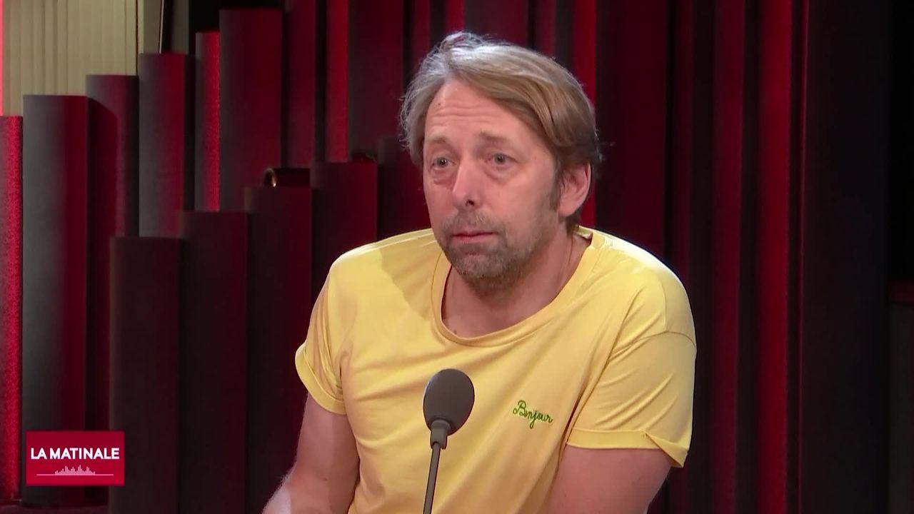L'invité de La Matinale (vidéo) - Robert Sandoz, directeur du Théâtre du Jura [RTS]