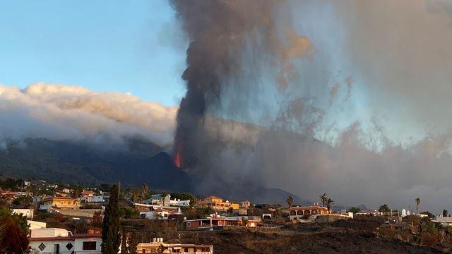 Le volcan Cumbre Vieja crache sa lave depuis le 19 septembre 2021. Luca Caricchi Unige [Luca Caricchi - Unige]