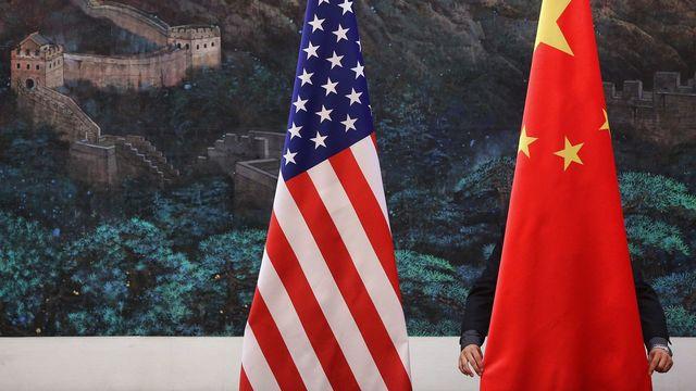 Léger réchauffement entre la Chine et les Etats-Unis après une rencontre à Zurich le 6 octobre 2021. [FENG LI / POOL - KEYSTONE]