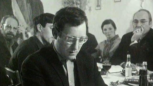 La poésie dans le Jura de la fin des années 60 avec Alexandre Voisard, Tristan Solier et Jean Cuttat. [RTS]