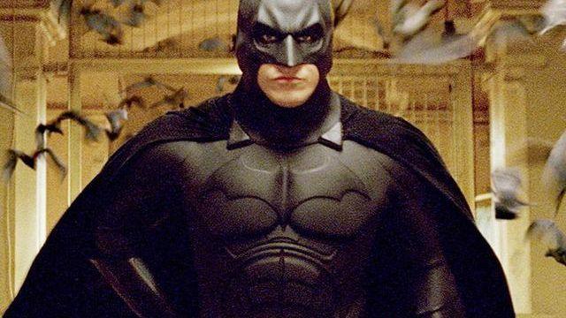 """Image issue du film """"Batman Begins"""" de Christopher Nolan (2005) [Warner Bros. Pictures / Syncopy / Courtesy of Warner Bros - Collection ChristopheL via AFP]"""