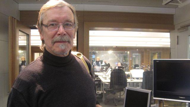 Jean Luc Baierlé, médecin cantonal jurassien et président du Conseil de Fondation de l'Opération Nez Rouge. [Sandro Lisci - RTS]