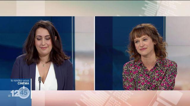 Aimée Papageorgiou, du magazine Culture Enjeu et Séverine Graff, historienne du cinéma, commentent les sorties cinémas de la semaine [RTS]