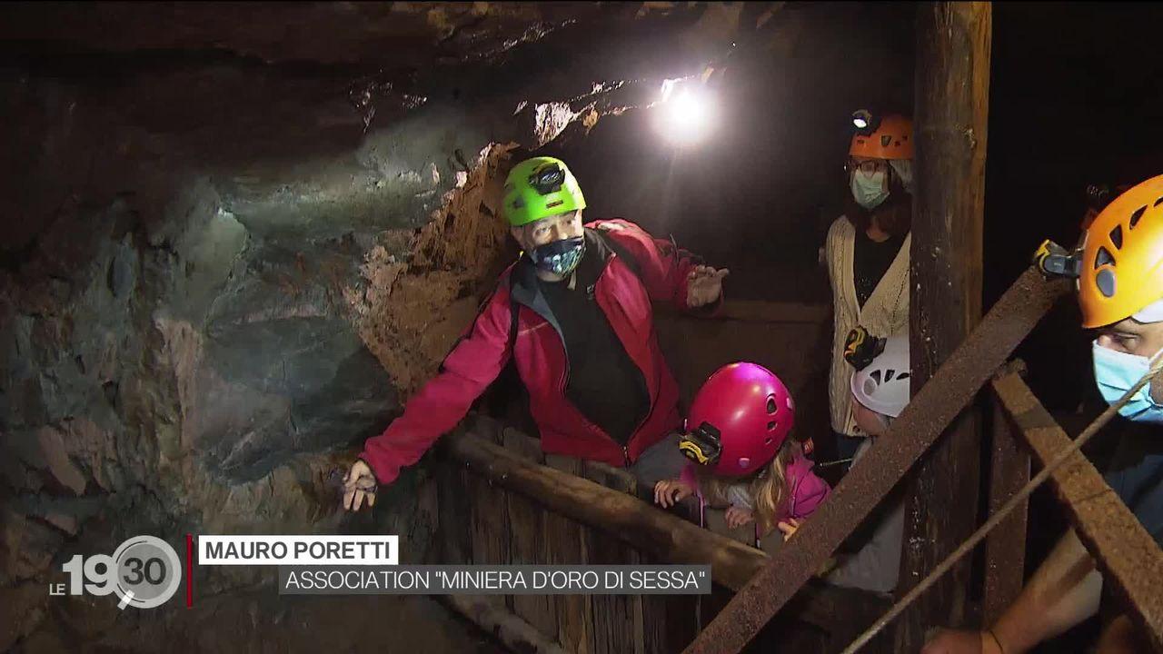 Série mine de Suisse 3-5: au Tessin, une mine d'or abandonnée s'est transformée en attraction touristique [RTS]