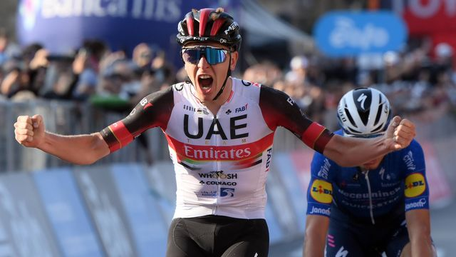 Le Slovène Tadej Pogacar, vainqueur en titre du Tour de France, a remporté la dernière grande classique de la saison cycliste. [Gian Mattia D Alberto/LaPresse G - Imago]