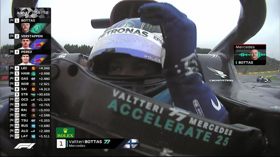 GP de Turquie (#16): victoire de Bottas (FIN) devant Verstappen (NED) 2e et Perez (MEX) 3e [RTS]