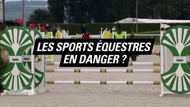 Le Mag: les sports équestres en danger? [RTS]
