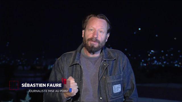 Le duplex de Sébastien Faure [RTS]