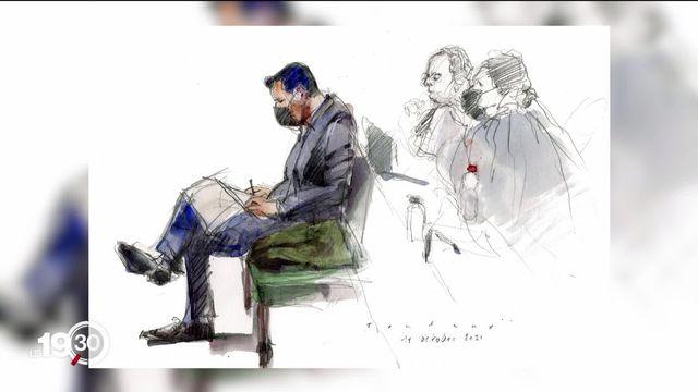 À Genève, le procès en appel de Pierre Maudet a débuté lundi. L'ancien conseiller d'Etat avait été condamné pour acceptation d'un avantage en première instance. [RTS]
