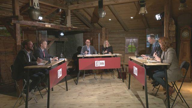 Décrochage pour les élections fribourgeoises 1 [RTS]